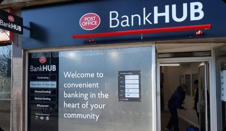 Hub bancaire de Cambuslang