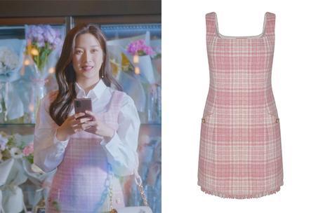 TRUE BEAUTY :  Im Ju-Gyeong's pink dress in S1E04