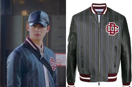 TRUE BEAUTY : Lee Su-Ho's striped bomber jacket in S1E04