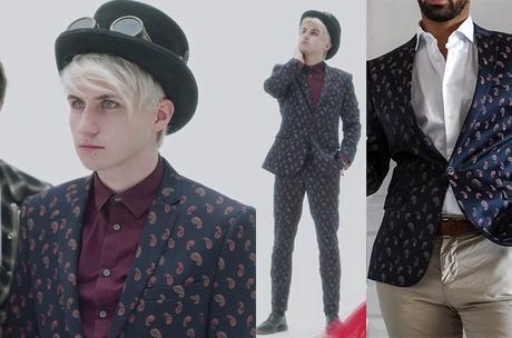 LENA rêve d'étoile : le costume motif cachemire de Frank dans la saison 3