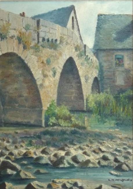 Andre Marie Vergnes Rodez Layoule Le pont