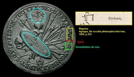 Medaille de KLeberger 1525-26 StadtAN E 17-II nr 1400 schema