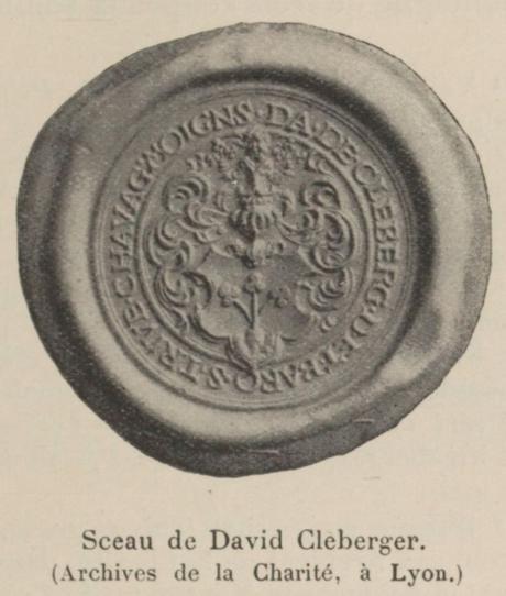 Sceau de Dvid Kleberger Vial p 141