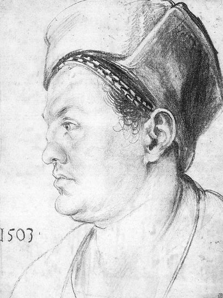 1503 Durer Willibald Pirckheimer Staatliche Museen, Berlin