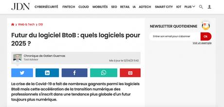 Journal du net parle d'iPaidThat