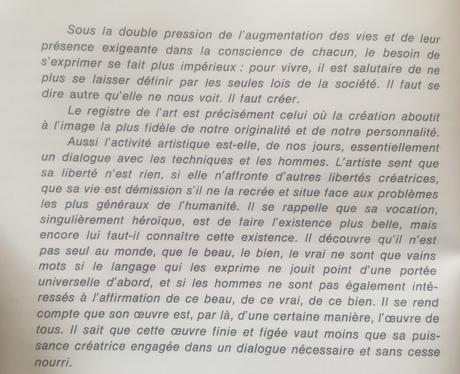 Quelques textes à propos de l'Art – celui d'Alioune Diop (présence africaine) et celui d'Ibrahim Jalal-