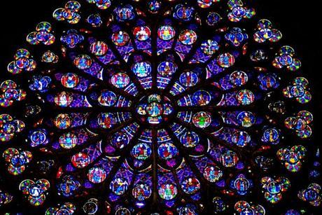 La rose du transept sud de Notre-Dame © French Moments