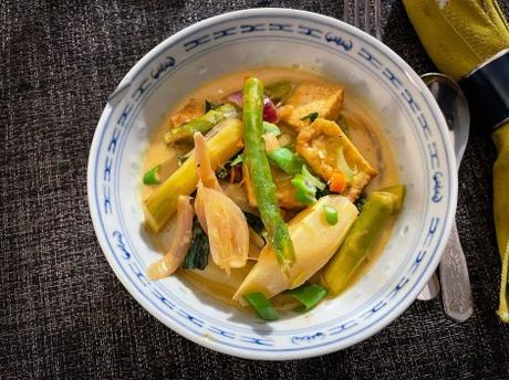 Thaï Spirit – Curry d'asperges au lait de coco
