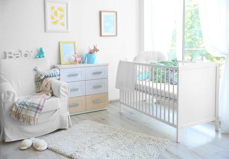 Une chambre de bébé intemporelle