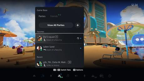 Les détails de la première mise à jour de la PS5!