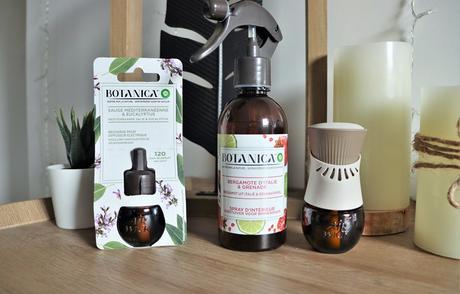 Nouveaux parfums d'intérieur Botanica !  par Airwick