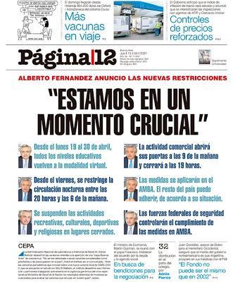 Régime sanitaire plus sévère encore à Buenos Aires et sa région [Actu]