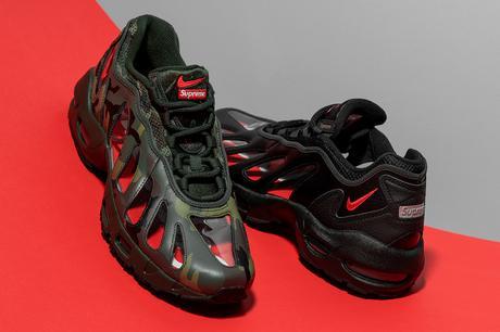 Les Supreme x Nike Air Max 96 se dévoilent en détail