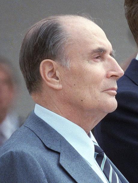 François Mitterrand en 1984 [Domaine Public]