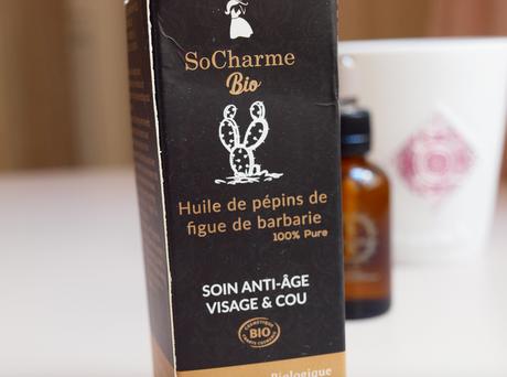 So Charme Bio – l'huile de pépins de figue de barbarie