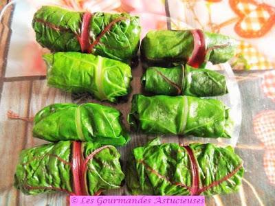Nems de blettes au sarrasin et à la courge (Vegan)
