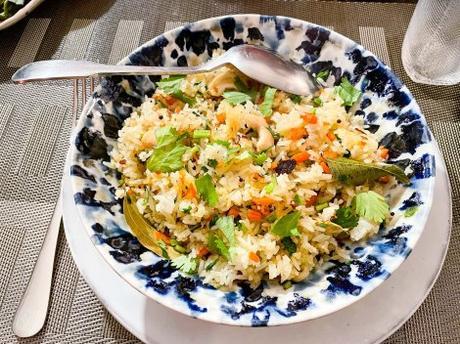 Gourmandise – Riz sauté indien aux carottes (carrot rice)