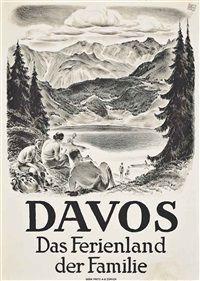 1928- Cours Universitaires de Davos - 1