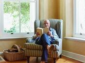 Qu'est-ce qu'un fauteuil oreilles chaise emblématique grands-parents