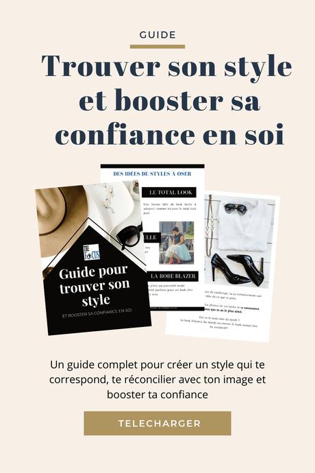 Le guide pour trouver votre style: je vous parle enfin de mon premier ebook!