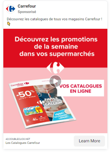 Comment Carrefour a digitalisé son catalogue promotionnel ?
