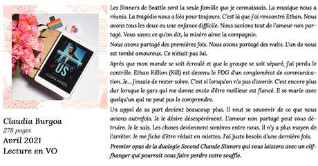 Pieces of Us (Second Chance Sinners #1) de Claudia Burgoa [Lecture en VO]