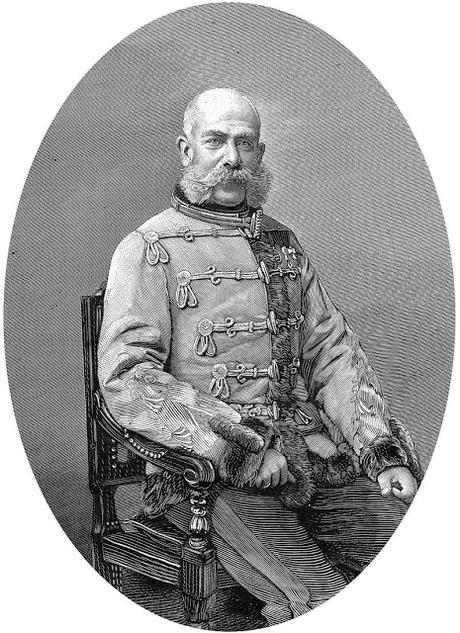 L'empereur François-Joseph dans le Journal illustré (février 1889)
