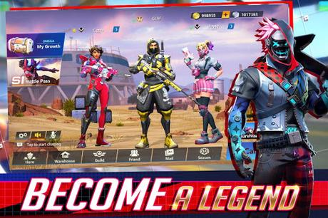 Code Triche Omega Legends  APK MOD (Astuce) 1
