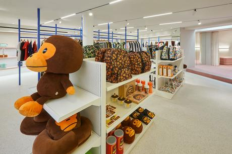 Bape ouvre son plus grand magasin à Londres