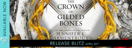 Release Blitz – The Crown of Gilded Bones by Jennifer L. Armentrout