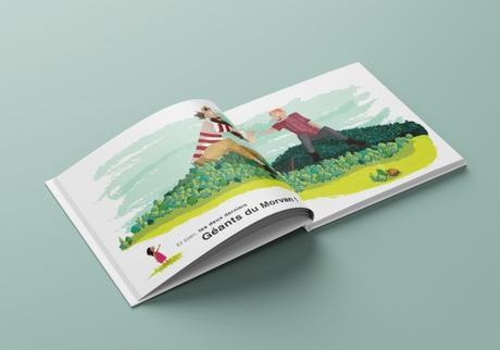 Les deux géants ce livre pour enfants dont tout le monde parle en Bourgogne