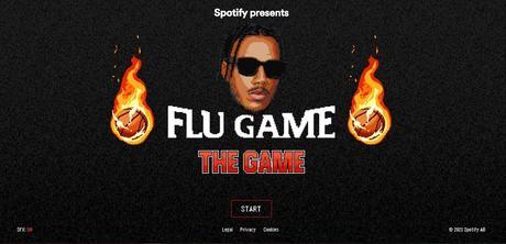 Pour célébrer la sortie du deuxième album d'AJ Tracey, Spotify a lancé un jeu vidéo de basket-ball.  - Photo gracieuseté de Spotify / ETX Studio