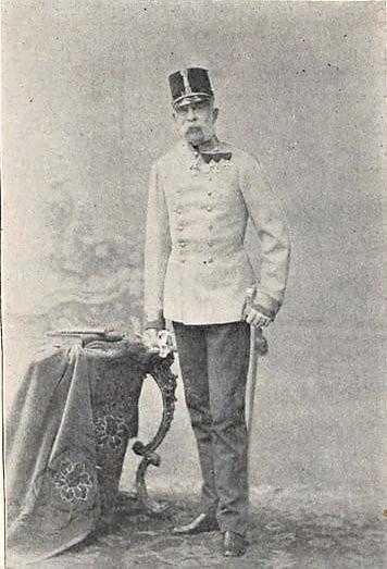Silhouettes sportives : les chasses de l'empereur d'Autriche racontées par le baron de Vaux