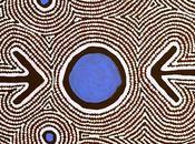 Focus peinture pointilliste aborigène Zenaida Gallagher Nampijinpa