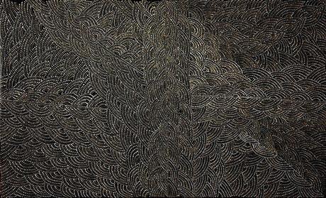 Gracie Morton Pwerle, une artiste aborigène d'Utopia (Autralie)