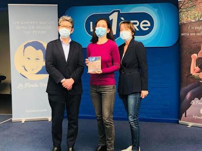 Prix Prem1ère Victor Livre Jeunesse Catherine Locandro pour roman