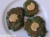 Pancakes épinards beurre citron vert (d'après Ottolenghi)