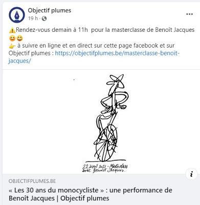 Rattrapage de la master class de Benoît Jacques