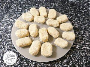 recette de nuggets de pois chiches