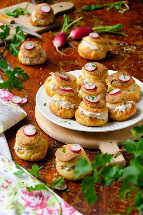 recette gougère farcie au saumon facile - blog cuisine maison