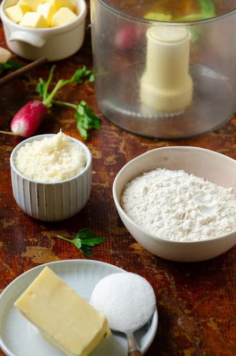 ingrédient craquelin salé fromage biscuit apéro maison