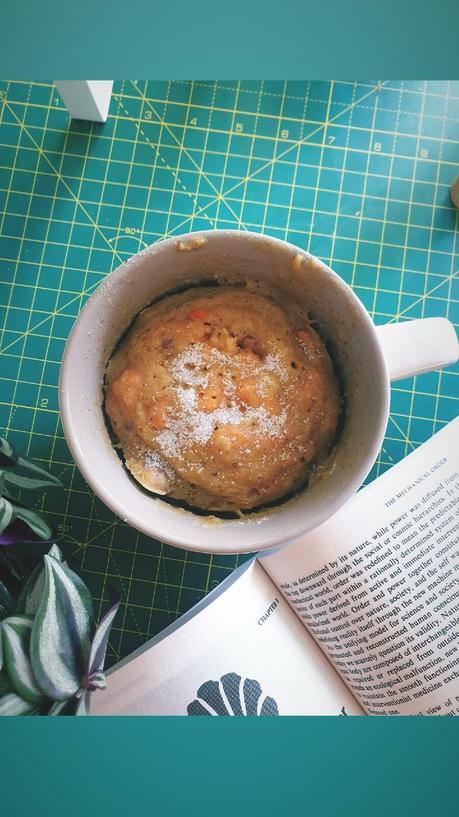 Recette du Mug Cake façon Carrot Cake (Vegan et non-Vegan)