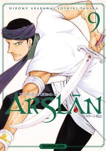 The Heroic Legend of Arslân T9, de Hiromu Arakawa
