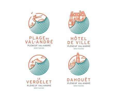 Nouvelle identité graphique pour Pléneuf-Val-André