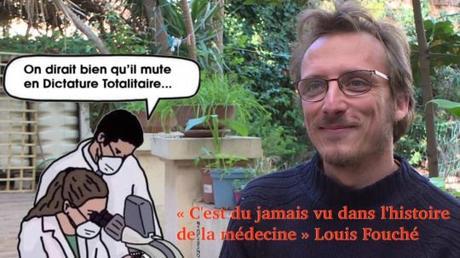 Lettre du Doc Louis Fouché