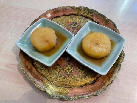 Nimono – Radis daikon mijoté