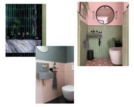 salle de bain carrelage vertical