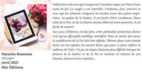 La Malédiction de la Foi (Vatic #1) de Natacha Rousseau