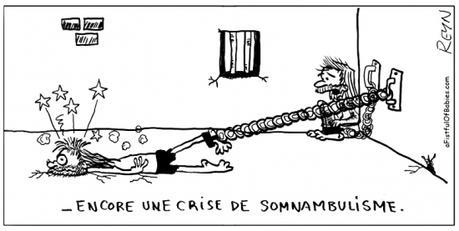 webzine,bd,zébra,fanzine,gratuit,bande-dessinée,comic-strip,reyn,afistfulofbabies.com,somnambule,prison,prisonnier,humour,gag