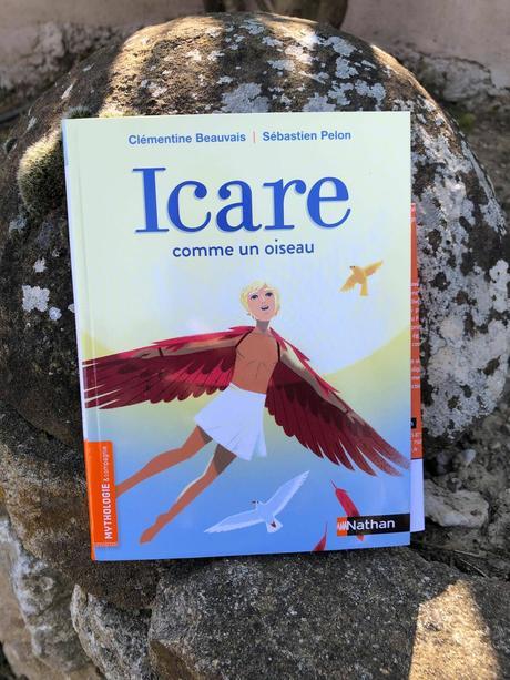 """ICARE """"Comme un oiseau"""" Nathan Editions"""
